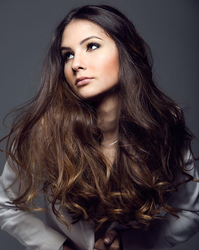 davines girl hair